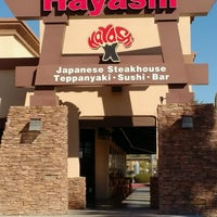 Photo taken at Hayashi Japanese Hibachi and Sushi Bar by Allan N. on 2/15/2017