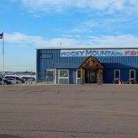 Photo taken at Rocky Mountain FBO by Allan N. on 7/25/2014