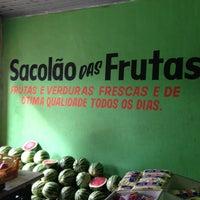 Photo taken at Sacolão das  Frutas by Didier D. on 7/7/2013