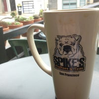 Photo taken at Spike's Coffee & Tea by Luke B. on 7/12/2013
