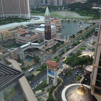 Photo taken at Sheraton Macao Hotel, Cotai Central by Novi M. on 7/25/2013