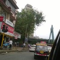 Photo taken at Khodadad Circle by Siddhant B. on 8/21/2014