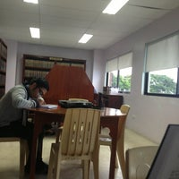 Photo taken at Ateneo Law School by njrski n. on 7/15/2013
