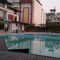 Photo taken at Taj Annapurna Hotel Kathmandu by Mike O. on 6/4/2014