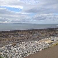 Photo taken at Enniscrone Beach by Markéta Š. on 9/28/2014