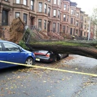 Photo taken at Frankenstorm Apocalypse - Hurricane Sandy by Wom B. on 10/30/2012