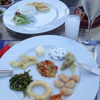 Photo taken at Mermaid Restaurant by Hale İ. on 8/9/2013