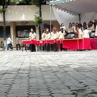 Photo taken at SMA Negeri 15 Surabaya by Sahrul F. on 12/20/2013