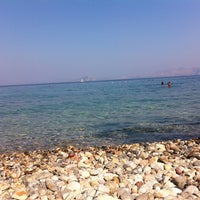 Photo taken at Yeşim Beach & Restaurant by YAŞAR U. on 7/16/2013