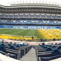 Photo taken at Oficinas de Presidencia Estadio Santiago Bernabéu by Tjebbe T. on 2/7/2017