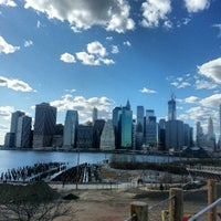 Photo taken at Brooklyn Bridge Park by XChocoX .. on 3/30/2013