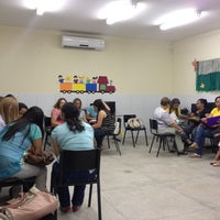 Photo taken at Escola Maroquinha by Marcelo R. on 8/20/2013