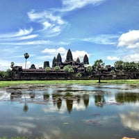 Photo taken at Angkor Wat by Lisa L. on 7/13/2013