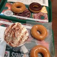 Photo taken at Krispy Kreme by Nur Aisyah Y. on 2/18/2016