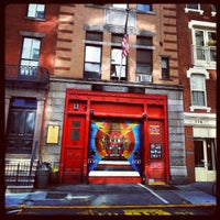 Photo taken at FDNY Squad 18 by Olivier D. on 10/22/2012