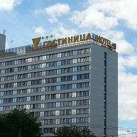 Снимок сделан в Гостиничный комплекс «Юбилейный» / Hotel Yubileiny пользователем Денис М. 7/18/2013