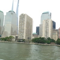 Photo taken at Hudson River Promenade by Tuba B. on 7/28/2013