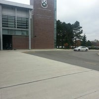 Photo taken at Hillfield Strathallan College by Amy C. on 11/1/2013