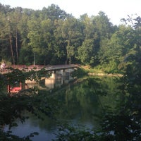 Photo taken at Siggenthaler-Brücke by Felix Samuele M. on 7/14/2013