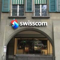 Photo taken at Swisscom Shop by Felix Samuele M. on 6/12/2016