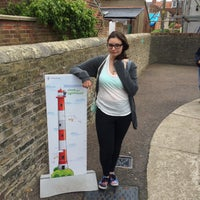 Photo taken at Southwold Lighthouse by Elif E. on 5/24/2015