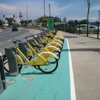 Photo taken at İBB/ İspark Akıllı Bisiklet Abone Noktası/ İsbike/ Bostancı by Emre K. on 6/25/2014