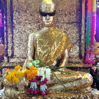 Photo taken at Wat Krok Krak by TonGer L. on 7/23/2013