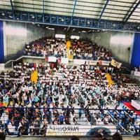 Photo taken at Gimnasio CEDED Don Bosco by Marianela 🌻 on 7/6/2014