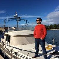 Photo taken at Marina Preko by Blodin G. on 11/18/2014