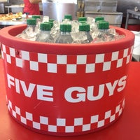 Photo taken at Five Guys by Jesson L. on 11/19/2012