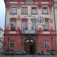 Photo taken at centrum experimentalniho divadla by Deniska on 8/4/2013