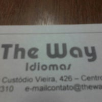 Photo taken at THE WAY by Luiz H. on 7/3/2013