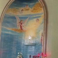 Photo taken at Iglesia Nuestra Señora de los Dolores by Min T. on 6/10/2014