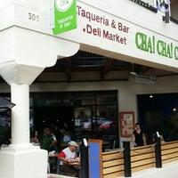 Photo taken at Cha Taqueria by Kollektiv D. on 9/21/2015
