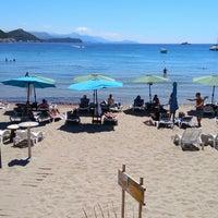 Photo taken at Sunj Lopud Beach by Kollektiv D. on 6/8/2017
