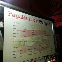 Photo taken at Papamalloy Burger by Ahmad F. on 5/2/2013
