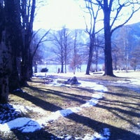 Photo taken at Kurpark Thumersbach by Paul on 3/16/2013