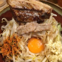 Photo taken at つけ麺 まぜ郎 ぎんや 砂田橋店 by Yu T. on 6/17/2016