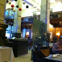 Photo taken at The Scotsman Hotel by Ian M. on 11/25/2012