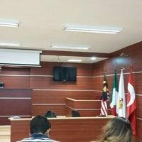 Photo taken at Sala de Juicios Orales   UVM by Ana Karen C. on 5/12/2016