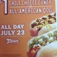 Photo taken at SONIC Drive In by Amanda A. on 7/23/2013