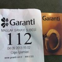Photo prise au Garanti Bankası par Fake hesap S. le9/4/2013