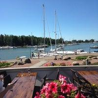 Photo taken at Pakkahuoneen Terassi by Tarja N. on 7/17/2014