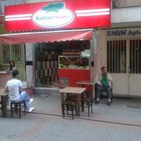 Photo taken at kahta çiğ köfte by Mehmet E. on 5/19/2014