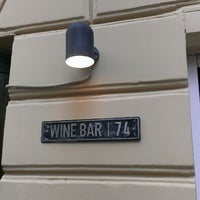 Photo taken at Винный бар «74» by Anastasiya K. on 9/28/2014