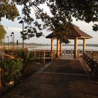Photo taken at Taman Panorama Benak by Noel D. on 2/23/2014
