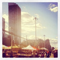 Photo taken at Hell's Kitchen Flea Market by Erik D. on 9/15/2012