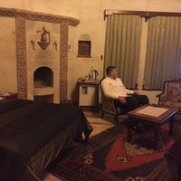 Photo taken at Stone House Cave Hotel by TC Murat Ç. on 6/17/2017
