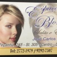 Photo taken at Espaço Blond by Poliana S. on 7/5/2013