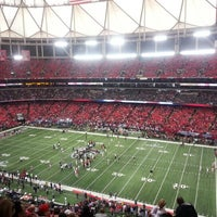 Photo taken at Georgia Dome by Sheldon S. on 1/20/2013